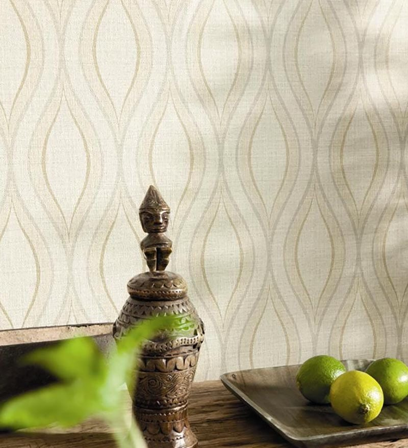 Multicoloured Non Woven Fabric Abstract Wallpaper by Marshalls WallCoverings
