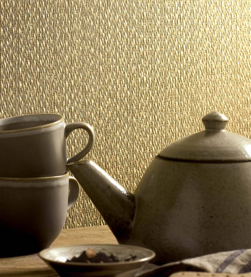 Off White & Beige Paper Backing Wallpaper by Marshalls WallCoverings