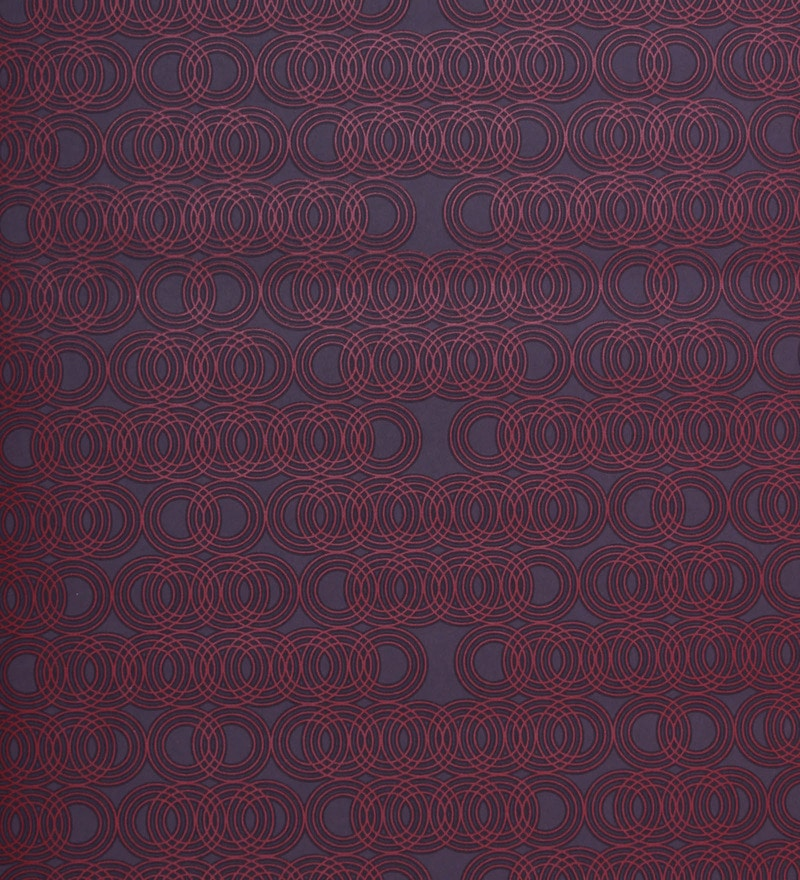 Purple Non Woven Fabric Long-Lasting Wallpaper by Marshalls WallCoverings
