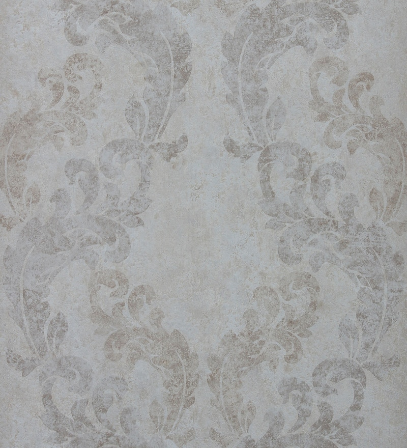 Brown Non Woven Fabric Enticing Print Wallpaper by Marshalls WallCoverings