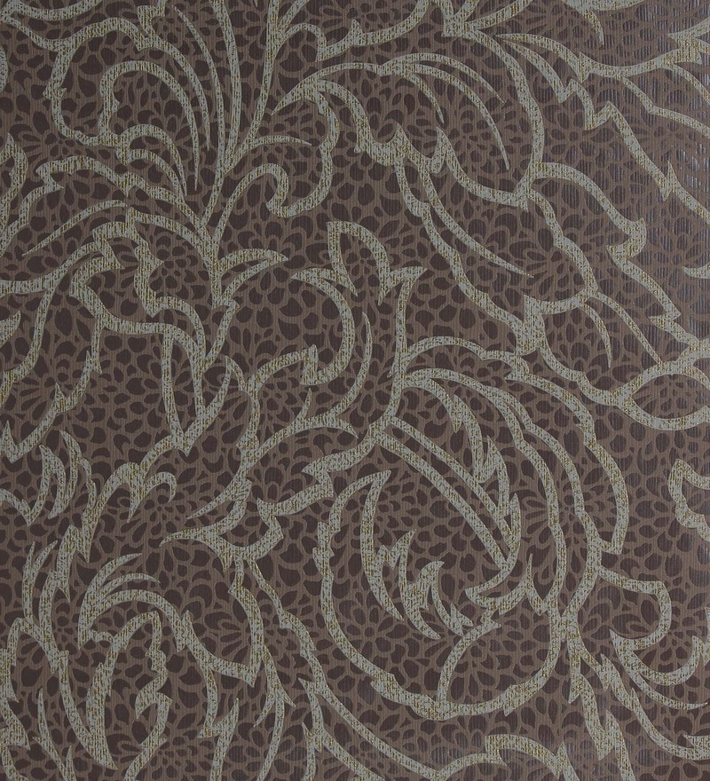 Brown Non Woven Fabric Fire Resistant Wallpaper by Marshalls WallCoverings