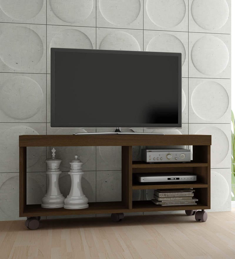 Masago Entertainment Unit in Tobacco Finish by Mintwud