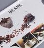 Machi Coffee Bean Multicolour Melamine Sandwich Tray - Set of 2