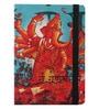 Multicolour Paper 8.3 x 5.9 x 0.6 Inch Dashbhuja Ganesh Diary by Mad(e) in India