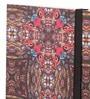 Mad(e) in India Multicolour Paper 8.3 x 5.9 x 0.6 Inch Peacock Diary