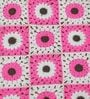 Exclusive Granny Square Blanket in Pink Colour by Magic Needles
