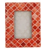 Maison Collection Red MDF 6 x 2 x 8 Inch Taj Photo Frame