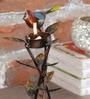 Malik Design Multicolour Metal Bird Big Tea Light