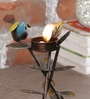 Malik Design Multicolour Metal Bird Medium Tea Light