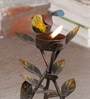 Malik Design Multicolour Metal Bird Small Tea Light