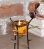 Malik Design Multicolour Metal Candle Tea Light Holder