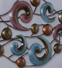 Multicolour Metal Decorative Carved Wall Hanging by Malik Design