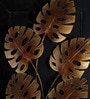Multicolour Metal Small Leaf Wall Hanging by Malik Design