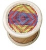 Manjola Stool in Multi Colour by Shinexus