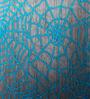 Mapa Home Care Blue Duppioni 16 x 16 Inch Silk Sequined Work Cushion Cover