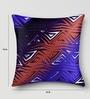 Mapa Home Care Multicolor Duppioni 16 x 16 Inch Digital Printed Cushion Cover