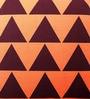 Mapa Home Care Multicolor Duppioni 16 x 16 Inch Geometric Printed Cushion Cover