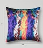 Mapa Home Care Multicolor Duppioni 16 x 16 Inch Graphic Cushion Cover