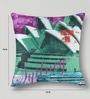 Mapa Home Care Multicolor Duppioni 16 x 16 Inch Sydney Cushion Cover