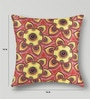 Mapa Home Care Pink & Yellow Duppioni 16 x 16 Inch Cushion Cover