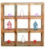 Belinda Solid Wood Book Shelf in Distress Finish by Bohemiana
