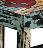 Clapton Bar Chair in Distress Finish by Bohemiana