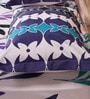 Mark Home Motifs Multicolour Cotton Abstract Bed Sheet (With Pillow Covers) - Set of 3