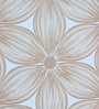Brown Non Woven Fabric Floral Design Wallpaper by Marshalls WallCoverings