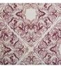 Red 100% Cotton Queen Size Duvet Cover - Set of 3 by Maspar