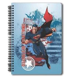 MC SID RAZZ Paper Superman Small Ville Notebook