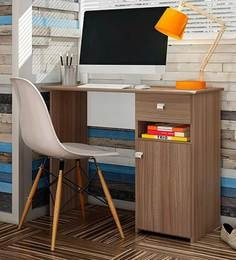 McBruno Study Table In Country Oak