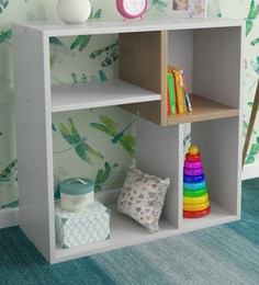 McVictor Book Shelf In Satin White