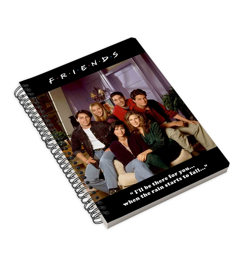 MC SID RAZZ Multicolour Paper Official Friends At Home Notebook Licensed by Warner Bros USA