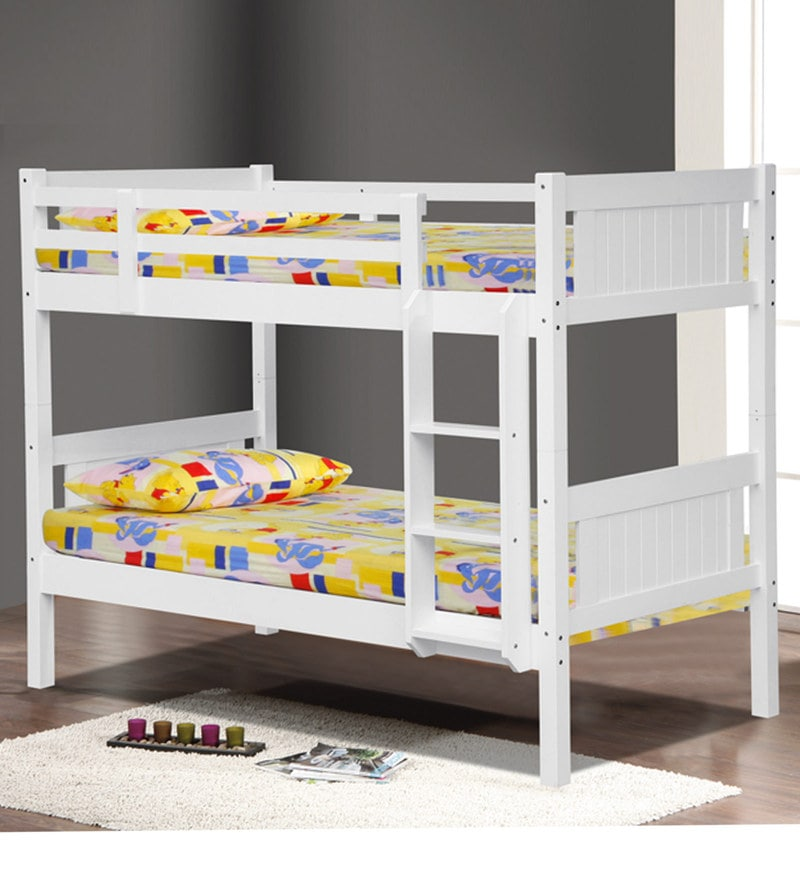 McHardy Bunk Bed in White by Mollycoddle