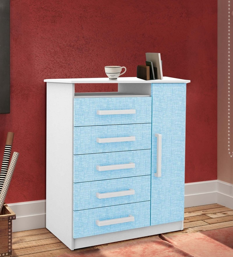 McJoe Changing Table in Sea Blue by Mollycoddle