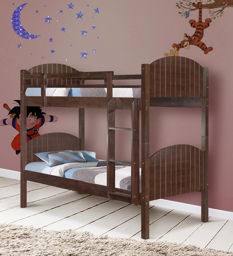 McOwen Bunk Bed in Cappuccino by Mollycoddle