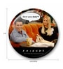 Multicolour Metal Official Friends How You Doin' Fridge Magnet Licensed by Warner Bros USA by MC SID RAZZ