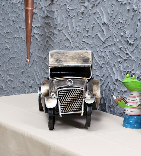 Metallic Iron Vintage Car by Sugandha