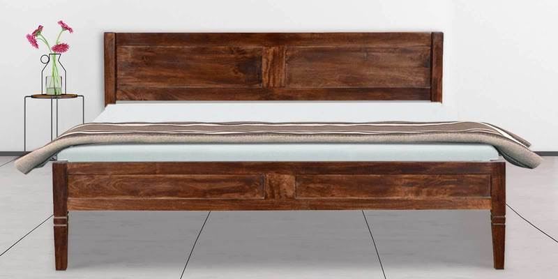 Medina King Bed in Provincial Teak Finish by Woodsworth