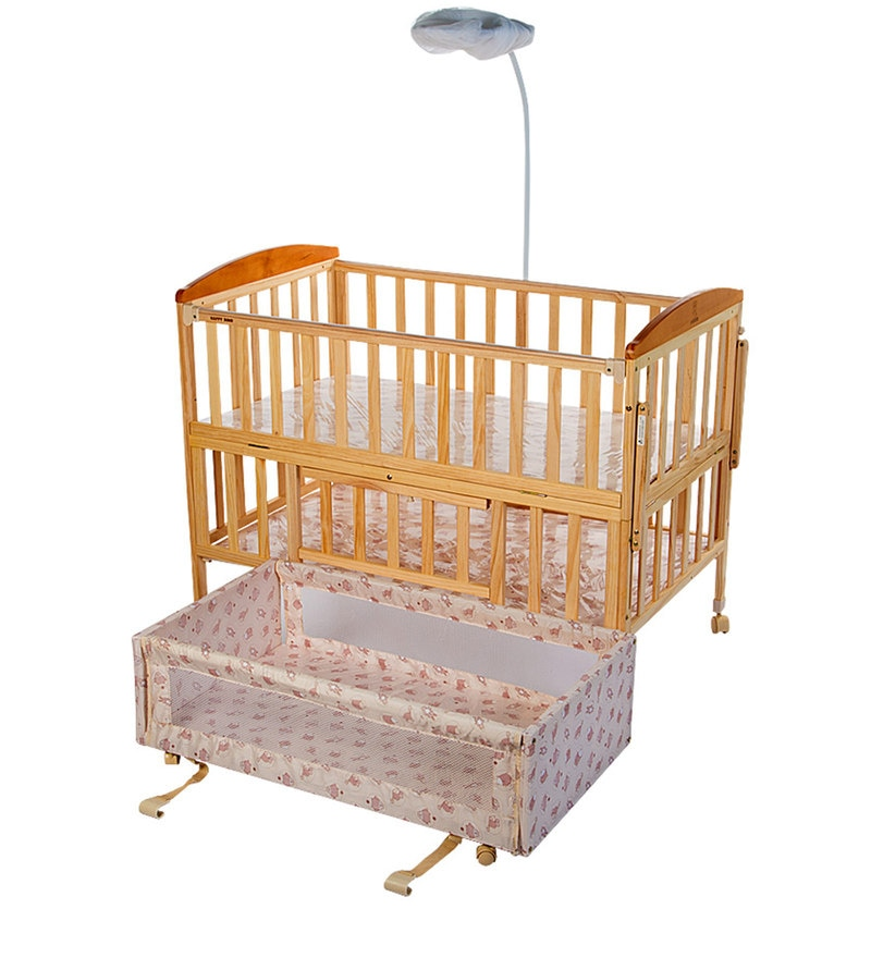 Buy Baby Wooden Cot with Swing   Mosquito Net by Mee Mee Online ... e74c3d8c8