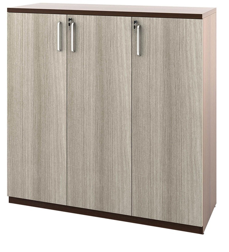 Merit Kitchen Cabinets: Buy Merit Mid Height Storage Cabinet With Three Doors In