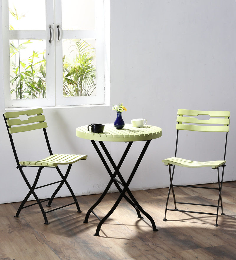 Mexico Folding Garden Set in Green Colour by Woodsworth