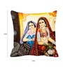 Multicolor Satin 16 x 16 Inch Queen Digitally Printed Cushion Cover by Me Sleep