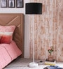 Melesio Floor Lamp in Black by CasaCraft