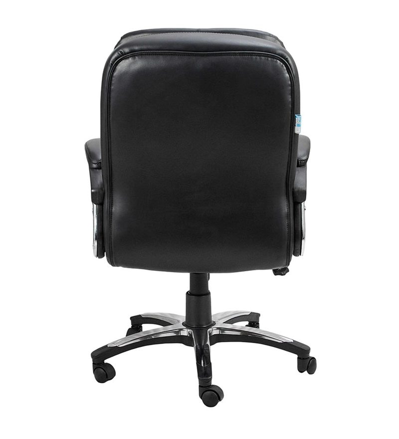 Pleasant Coavas Executive Chair In Black Colour By Vj Interior Short Links Chair Design For Home Short Linksinfo