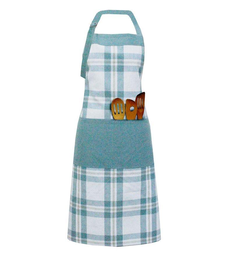 Milano Home Multicolour 100% Cotton Checkered Apron