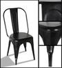 Ekati Metal Chair in Black Color by Bohemiana