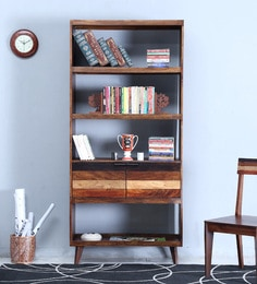 Monet Book Case In Dual Tone Finish - 1608139