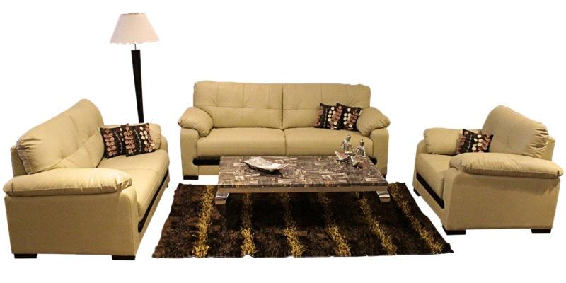 Buy Monet Sofa Set 3 2 1 In Beige Colour By Evok Online