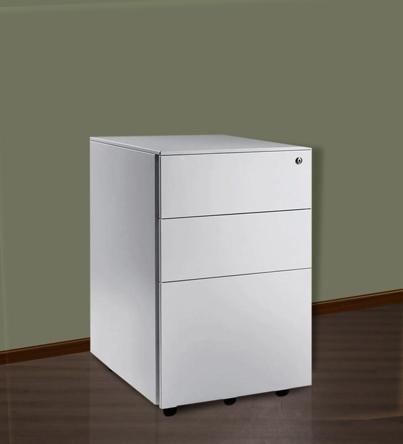 Mobile Pedestal File Cabinet by Fonzel